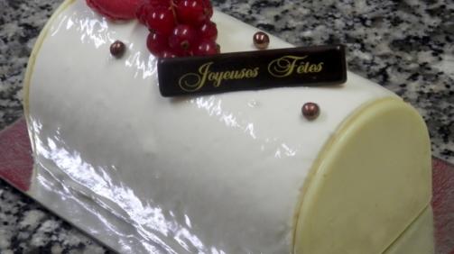 Desserts : Bûche de Noël par la pâtisserie Chasles