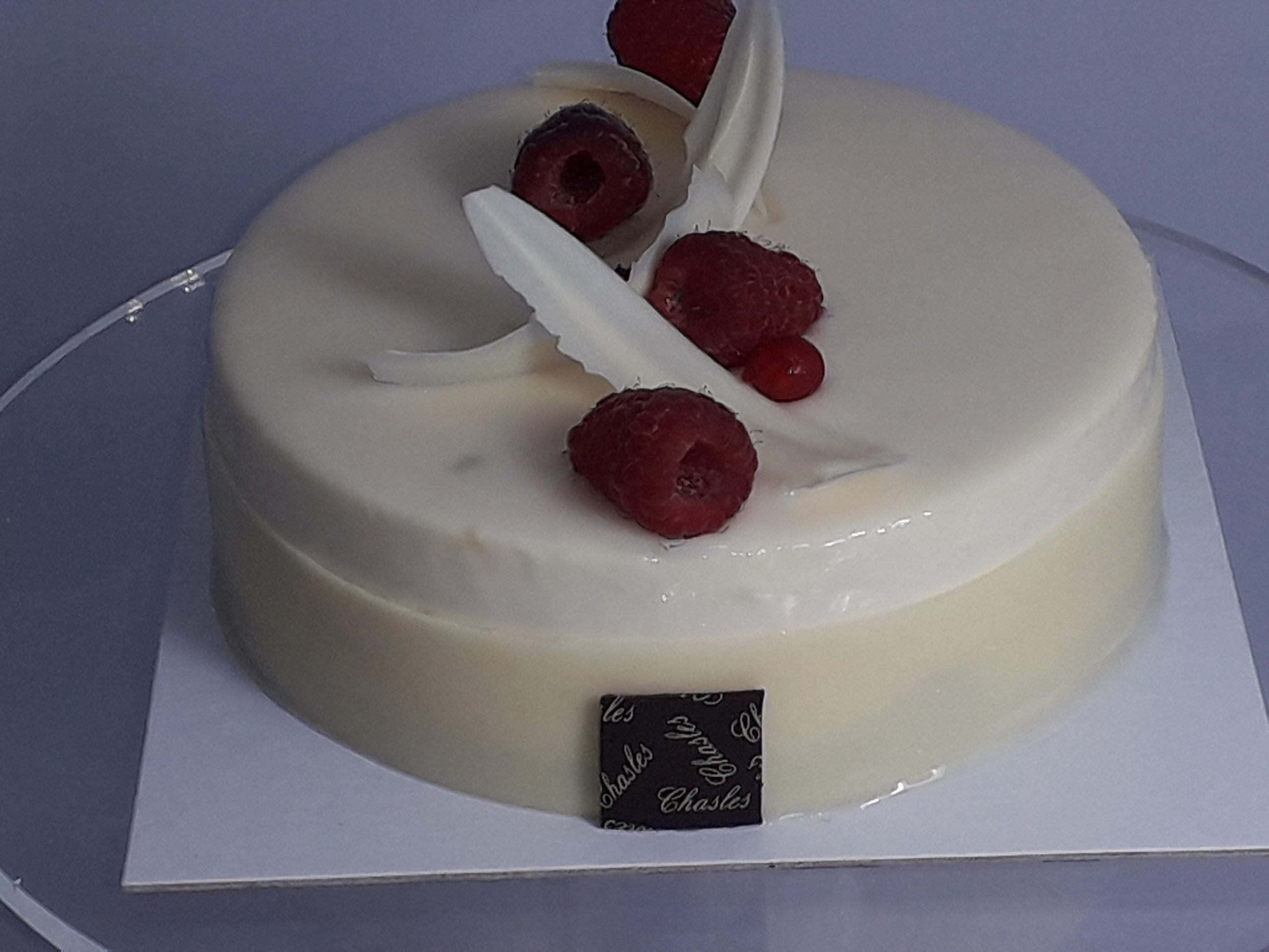 Gâteaux au chocolat blanc