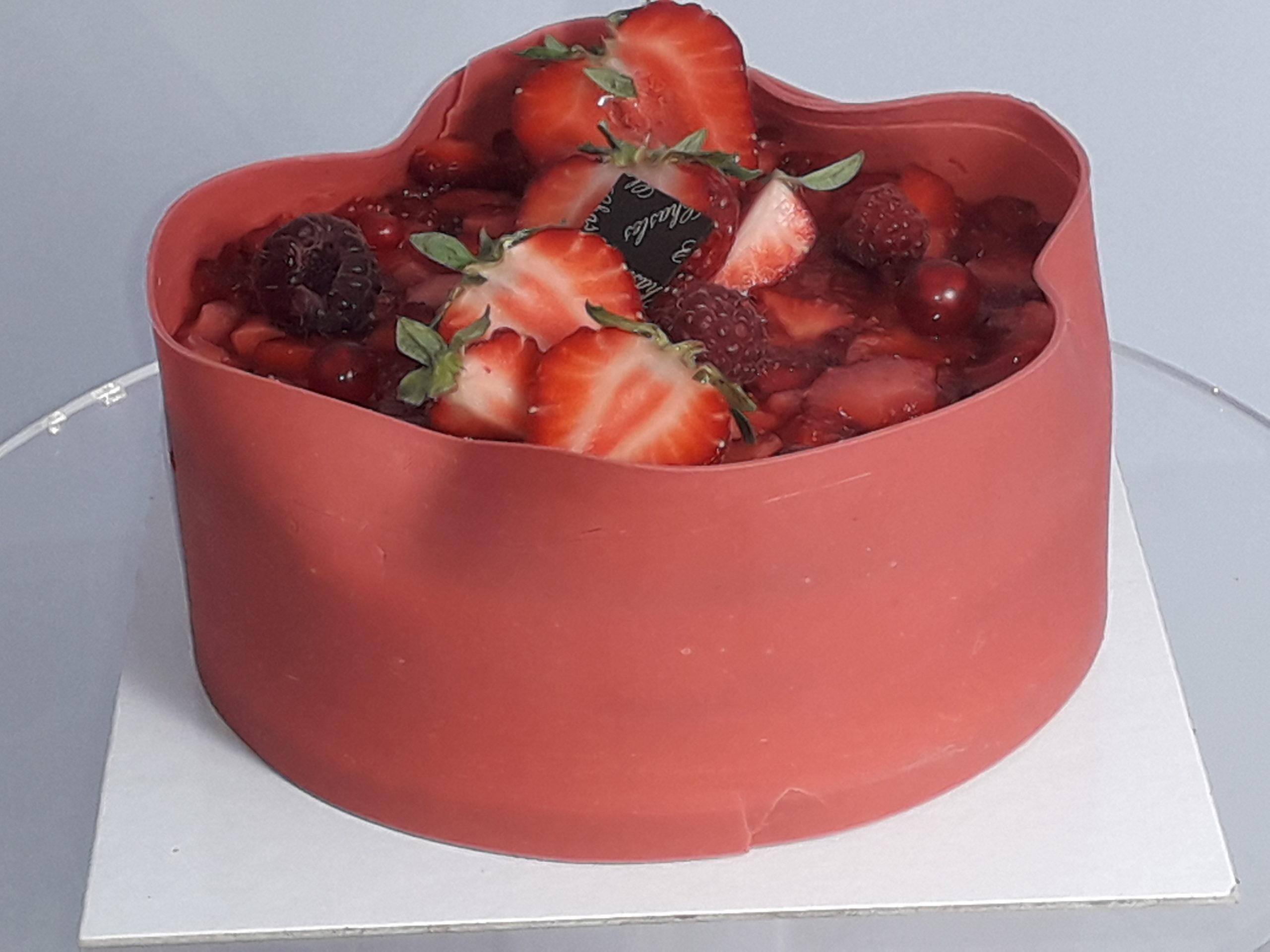 Gâteaux fruits rouges